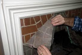 Remove Brick Fireplace paint