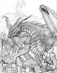 100 ideas epic dragon coloring pages emergingartspdx