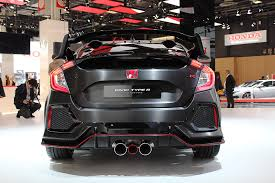 honda unveils new 2018 civic type r honda of sumner blog