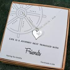 gifts necklace images Gifts for friends unique best friend gift friendship compass jpg