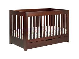 Modern Convertible Crib Babyletto Mercer 3 In 1 Convertible Crib In Espresso W Toddler Rails