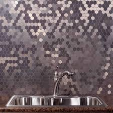 kitchen backsplash custom backsplash steel metal stainless steel