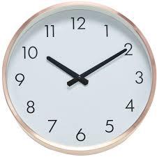 Horloge Murale Ronde Blanche Avec Charmant Grande Horloge Murale Blanche Avec Horloge Murale