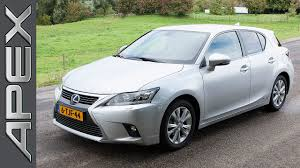 lexus ct200 hybrid lexus ct200h hybrid luxury line review youtube