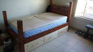 stock bed 8 steps