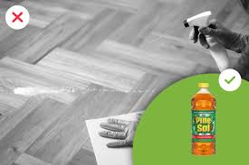 can i use pine sol to clean wood kitchen cabinets cleaning products you should never use on your wood floors