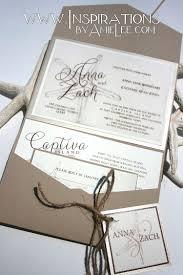 wedding invitations beach wedding invitations starfish