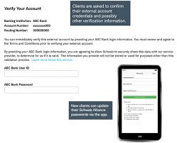 schwab alliance client access