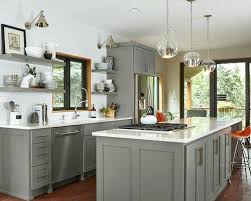 grey kitchen cabinets with granite countertops gray kitchen cabinets with white countertops faced