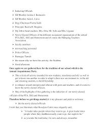 acquaintance party speech documents