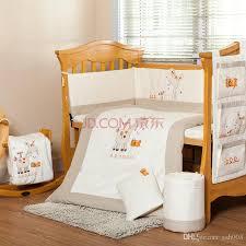 Beige Crib Bedding Set Crib Bedding Set Unisex Baby Sets 100 Cotton Cot Design Ideas