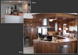 peindre des armoires de cuisine en bois renovation cuisine bois avant apres simple rnovation cuisine ides