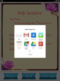 Wedding Invitation Software Party Invitation Card Designer Android Apps On Google Play
