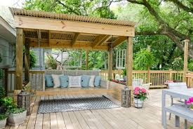 Backyard Covered Patio Ideas 20 Amazing Backyard Living Outdoor Spaces Covered Patio Swing