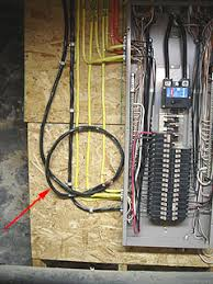 how to install a 50 2 pole circuit breaker to power a sub panel