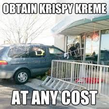 Krispy Kreme Meme - krispy kreme at any cost matchmaker logistics