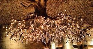 tree chandelier in kathryn vineyard bored panda