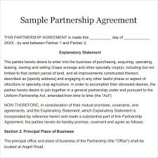mutual agreement contract sample template billybullock us