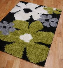 Cream And Black Rugs Black And Green Rugs Roselawnlutheran