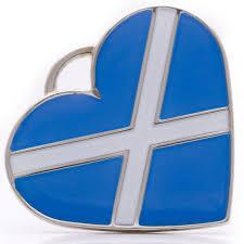 scotland flag dog id tag pet blessings