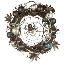 Halloween Wreath National Tree Company 18 In Halloween Wreath With Ornaments And