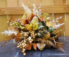 our unique fresh flower cornucopia makes the thanksgiving