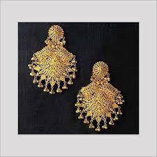 earrings in grt gold earrings in chennai tamil nadu india grt jewellery