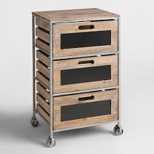 rolling carts wood metal u0026 rustic styles world market