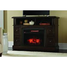 pleasant hearth elliott 47 in media electric fireplace in merlot