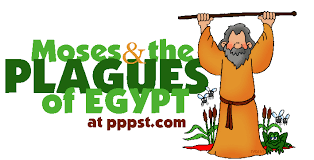 passover masks 10 plagues ten plagues of passover moses exodus testament