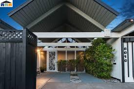 classic eichler home for sale in oakland hills at 8010 shay drive