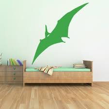 dinosaur wall stickers iconwallstickers co uk pterodactyl prehistoric dinosaur wall sticker childrens bedroom decor art decals