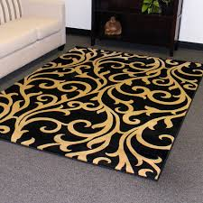 Orange Area Rug With White Swirls Flooring Interesting Checked Motif Walmart Area Rugs On Cozy
