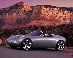 pontiac solstice pontiac solstice concept a back to basics roadster