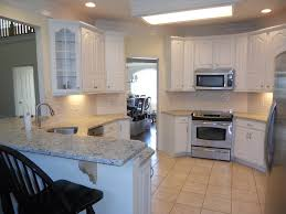 painted white kitchen cabinets interiors design