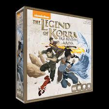legend korra tabletop game geek