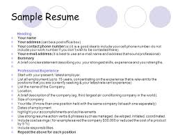 not to include in resume sle resume heading your name your address can be a post office