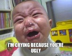 Screaming Baby Meme - ugly crying baby memes quickmeme