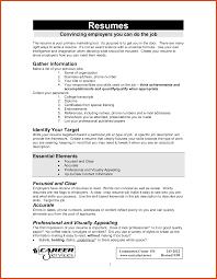 How Do You Write A Job Resume by How To Write A Job Resume Moa Format