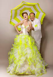yellow wedding dress colored wedding dresses ready to make a powerful fashion statement