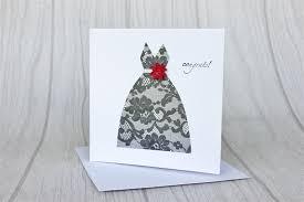 Congratulations Engagement Card Congratulations Greeting Card Dress Greeting Card Wedding