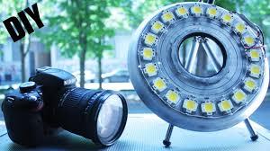 ring light for video camera how to make 200w ring light 4 video led youtube
