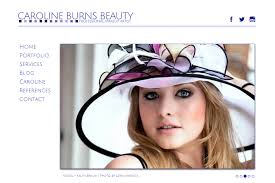 websites for makeup artists beauty makeup artist website design kinetic knowledge nj
