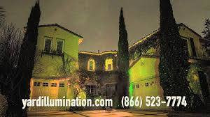 illuminator laser christmas lights youtube