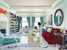 living room with red accents turquoise modern living room with red accents luxe interiors