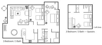 3 bedroom 3 bath floor plans kauai regency condos