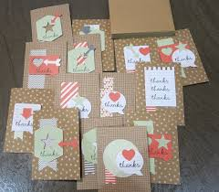 easy thank you cards rv crafting