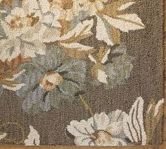 bouquet floral rug 7 best pottery barn area rugs u2026