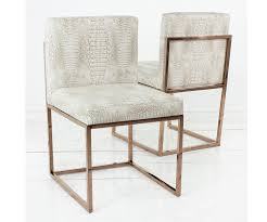 Gold Dining Chairs 007 Dining Chair With Gold Frame Modshop
