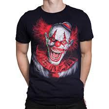scary clown halloween costumes dark fantasy scary clown black t shirt tee liquid blue